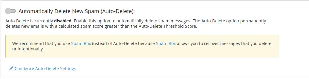 spam filter 6